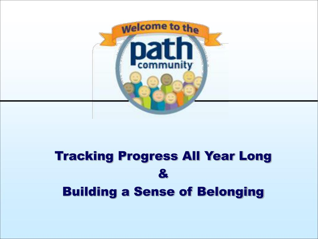 Tracking Progress All Year Long