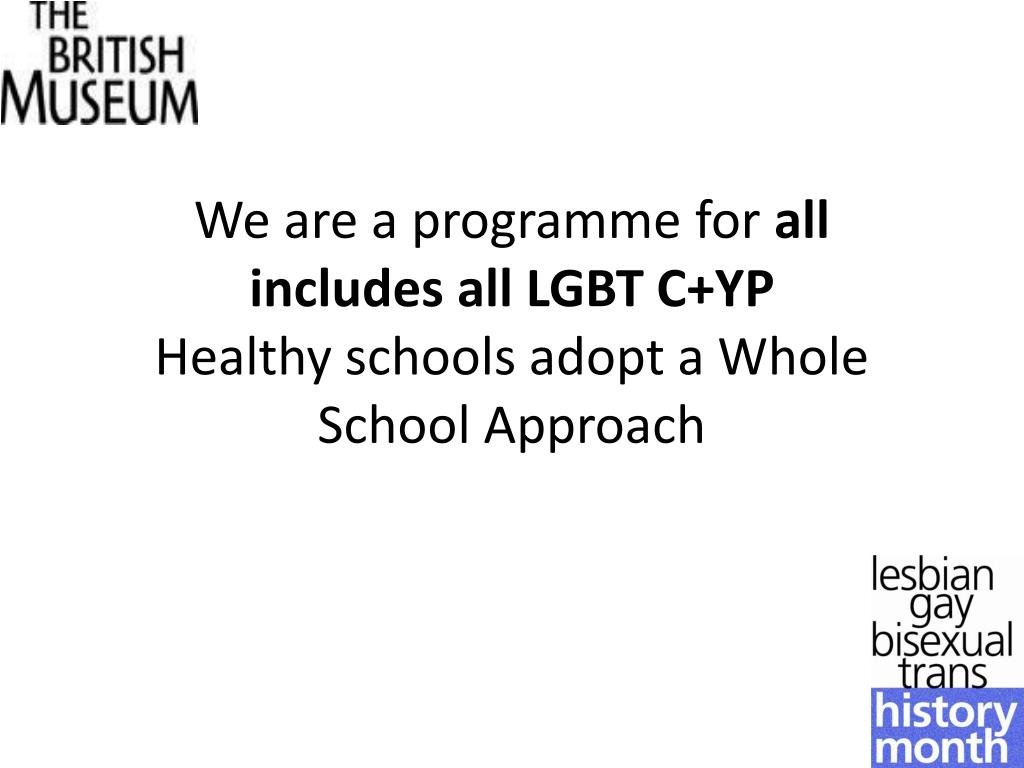 We are a programme for