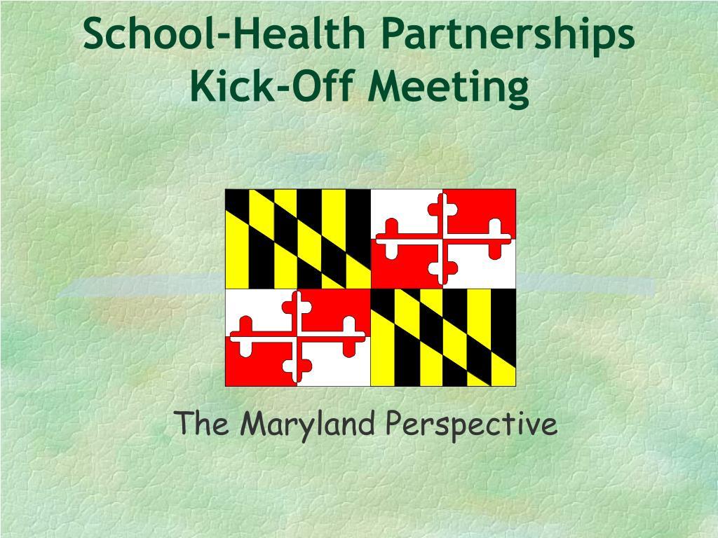 School-Health Partnerships