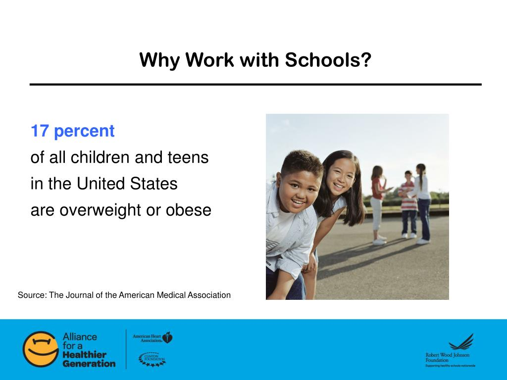 Why Work with Schools?