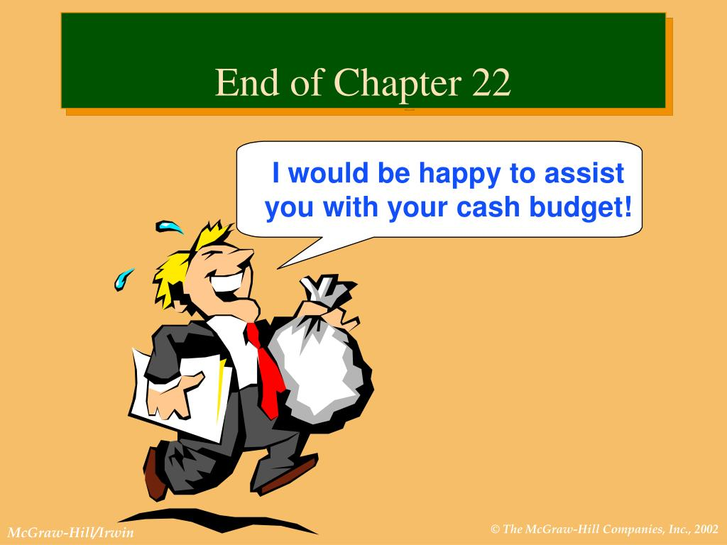 End of Chapter 22