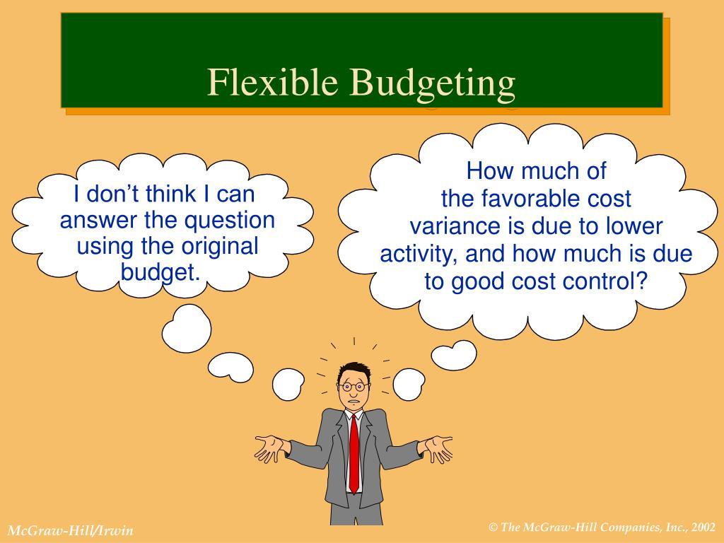 Flexible Budgeting