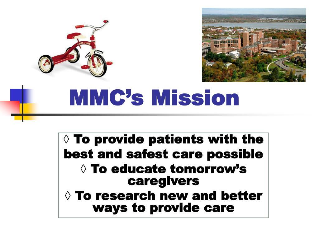 MMC's Mission