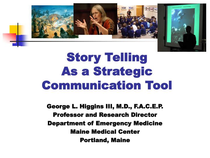 Story telling as a strategic communication tool l.jpg