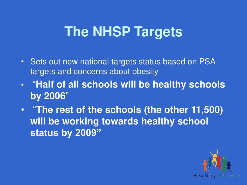 The NHSP Targets