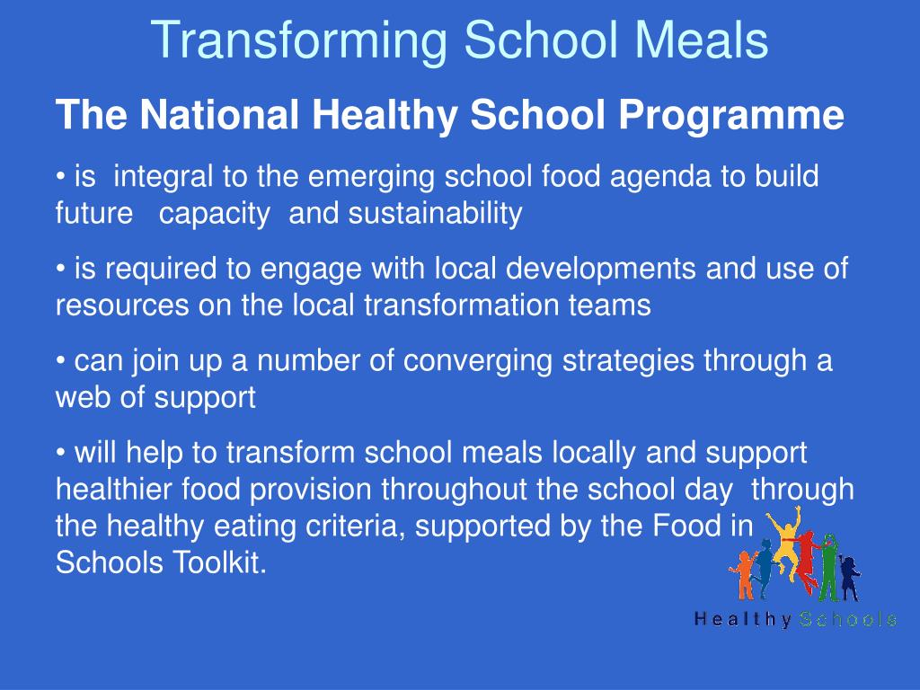 Transforming School Meals