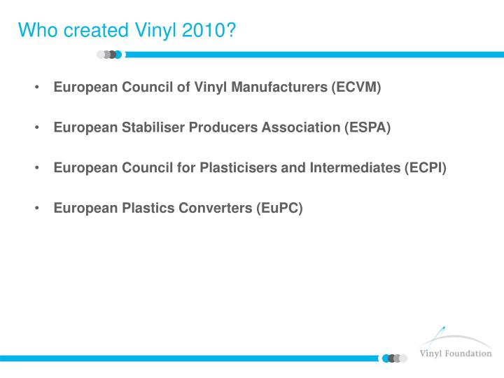 European Council of Vinyl Manufacturers (ECVM)