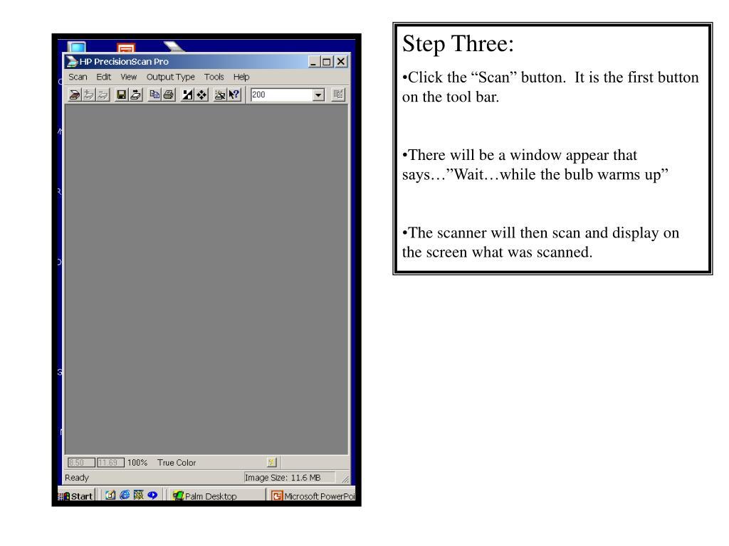 Step Three: