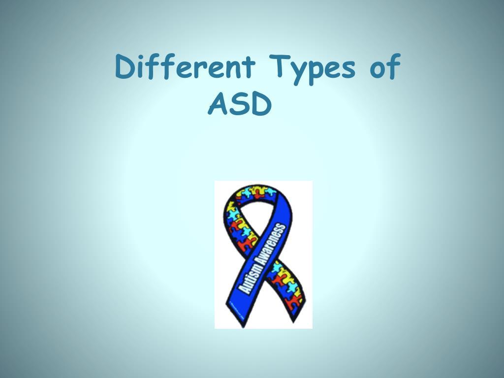 different types of autism pdf