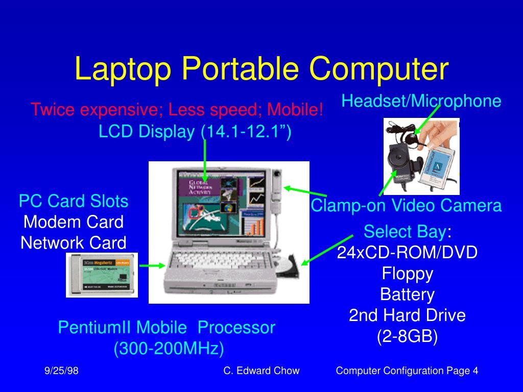 Laptop Portable Computer