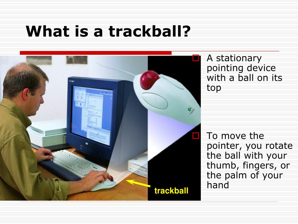 What is a trackball?