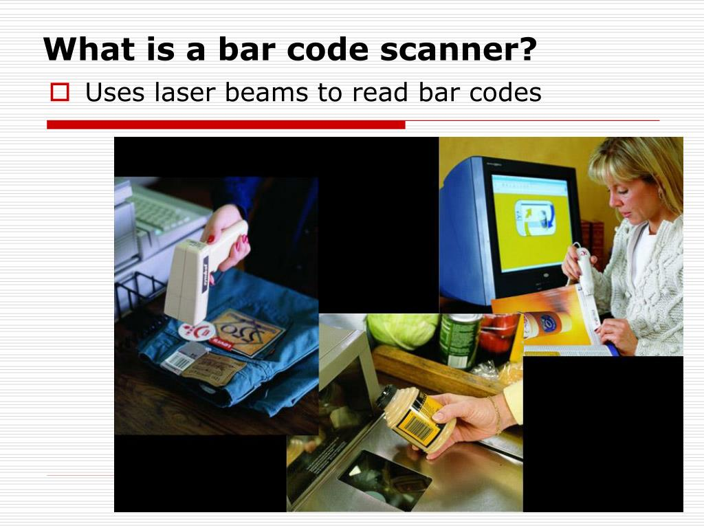 What is a bar code scanner?