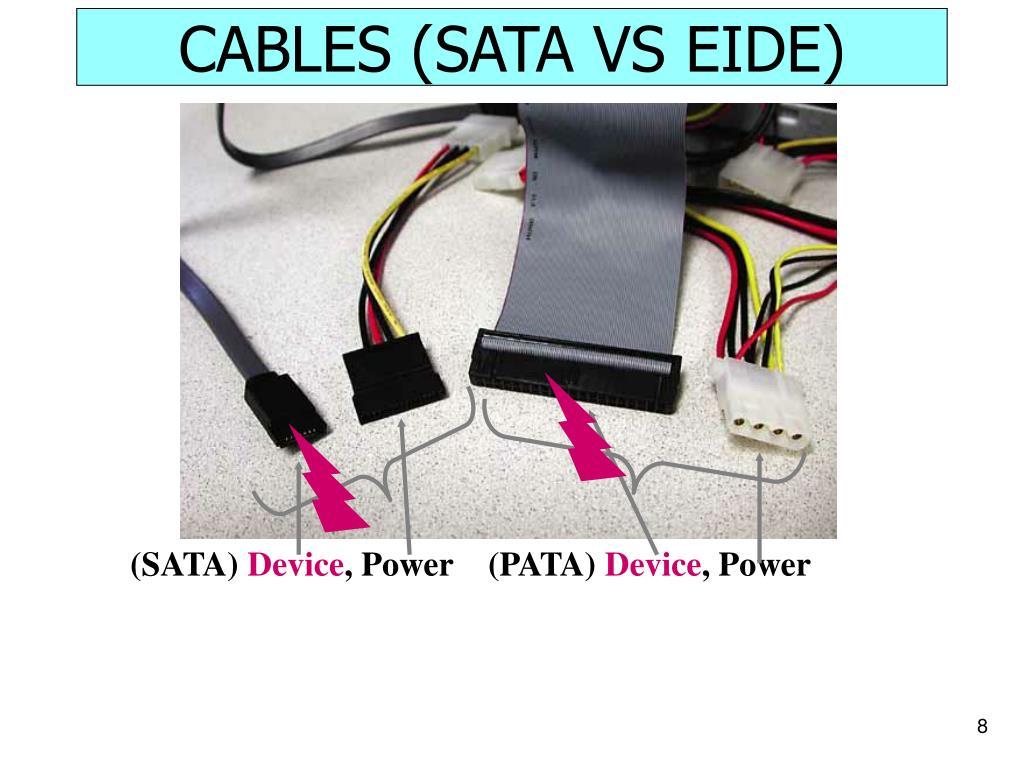 CABLES (SATA VS EIDE)