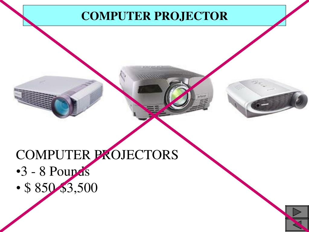 COMPUTER PROJECTOR