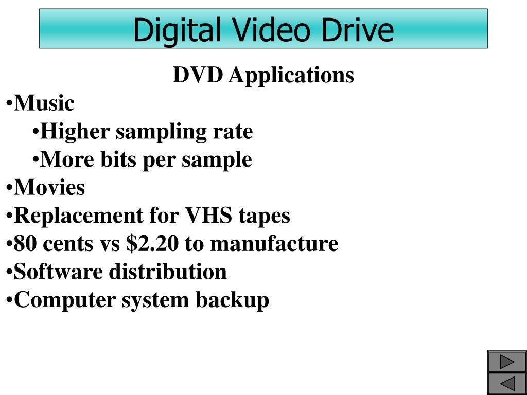 Digital Video Drive
