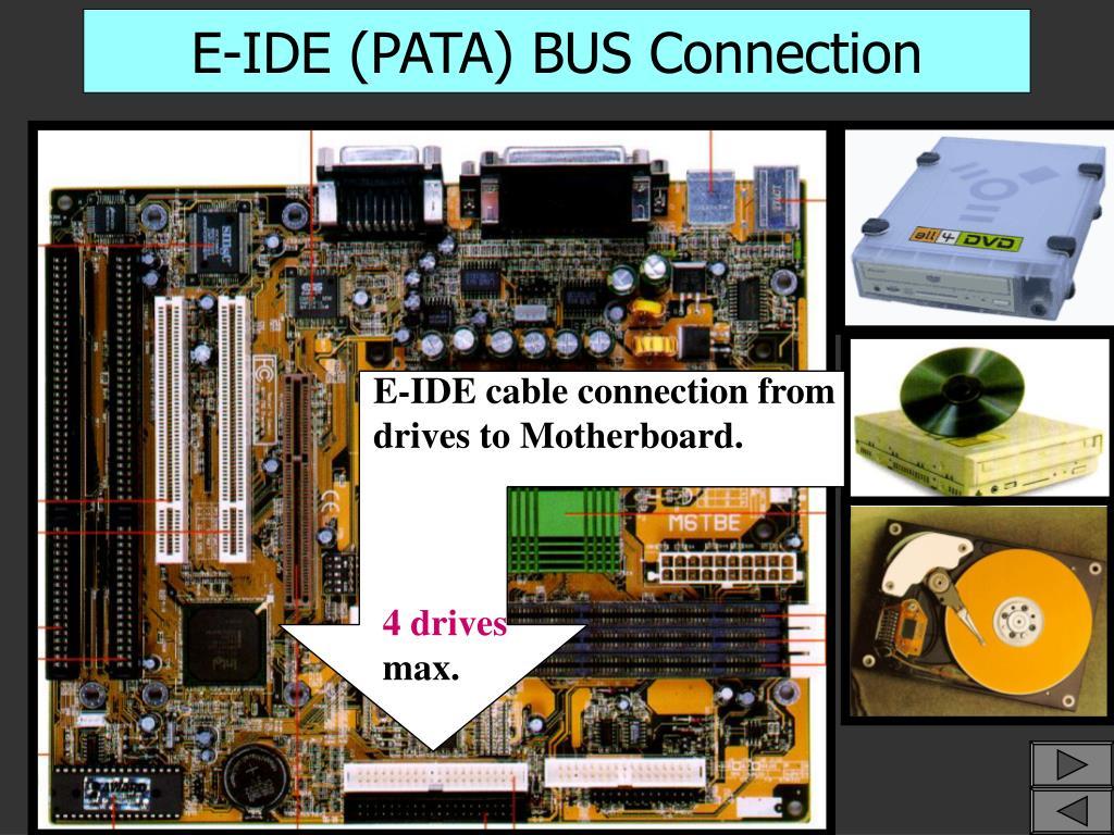 E-IDE (PATA) BUS Connection