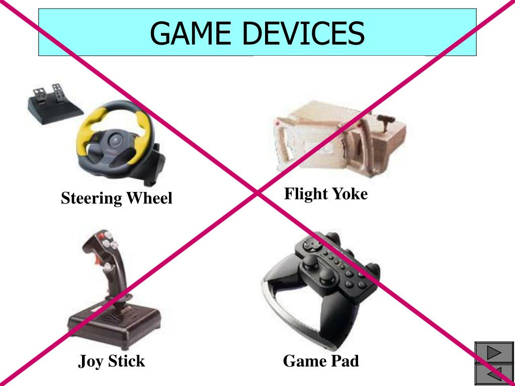 GAME DEVICES