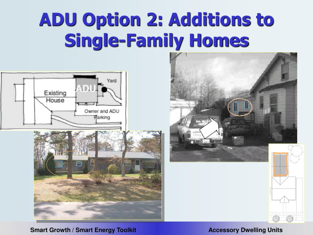 ADU Option 2: Additions to Single-Family Homes