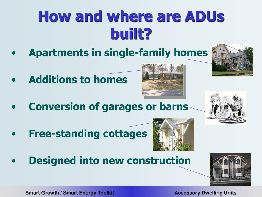 How and where are ADUs built?