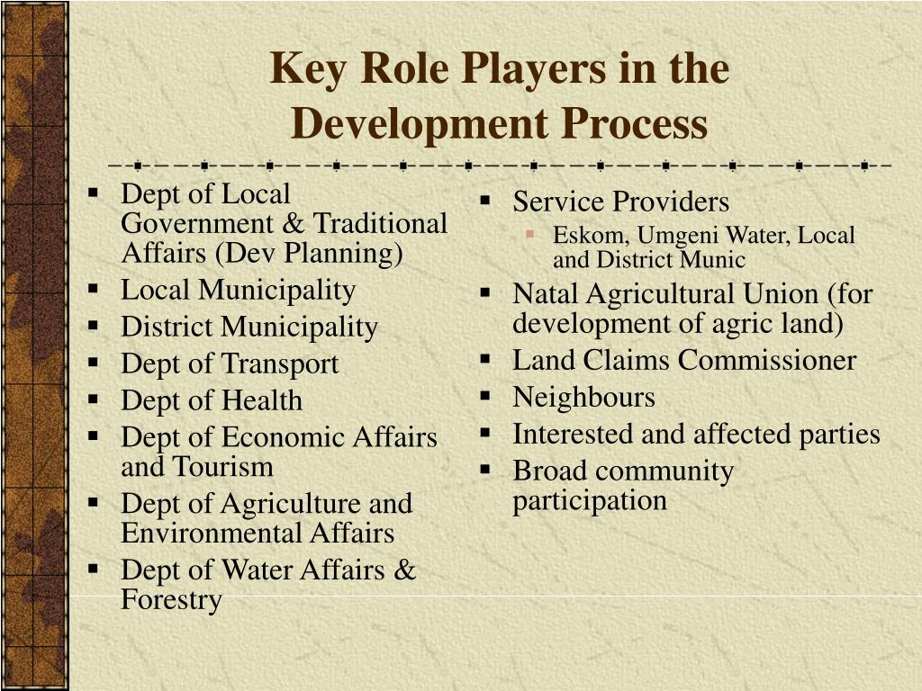 Dept of Local Government & Traditional Affairs (Dev Planning)