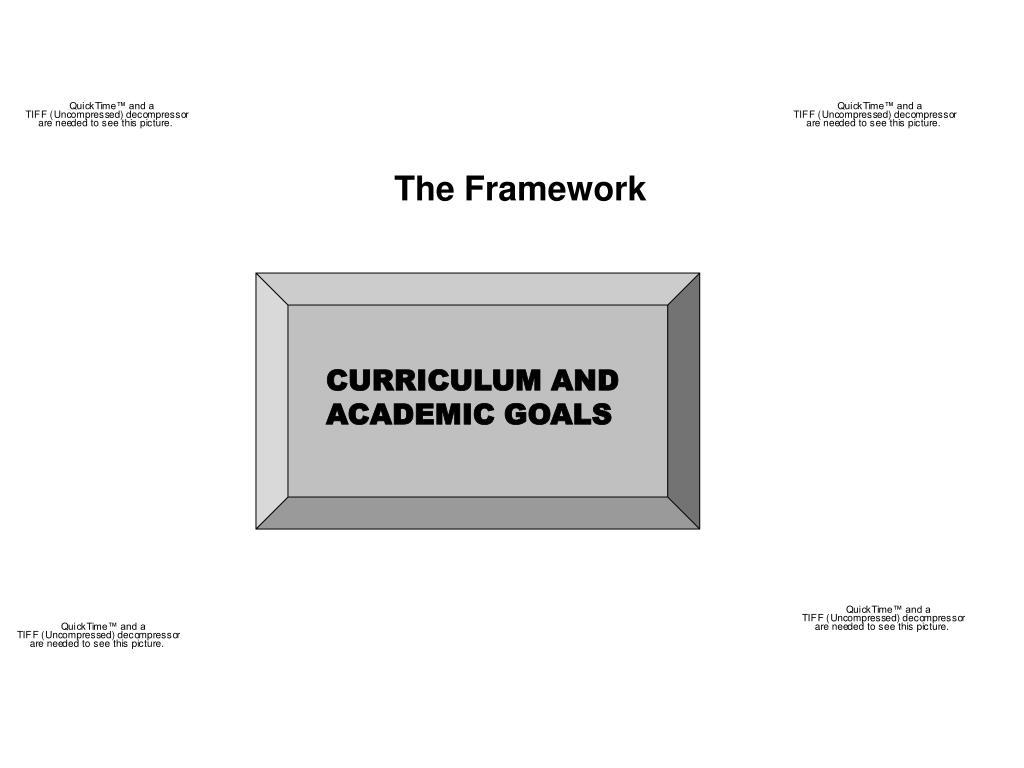 CURRICULUM AND ACADEMIC GOALS