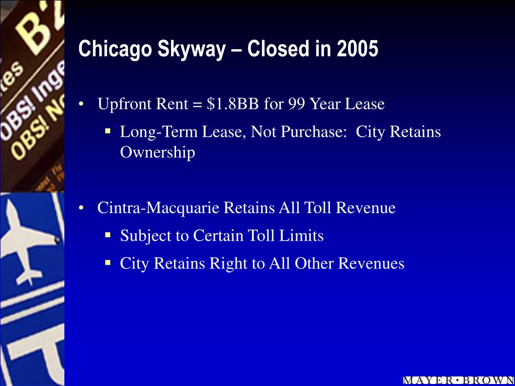 Chicago Skyway – Closed in 2005