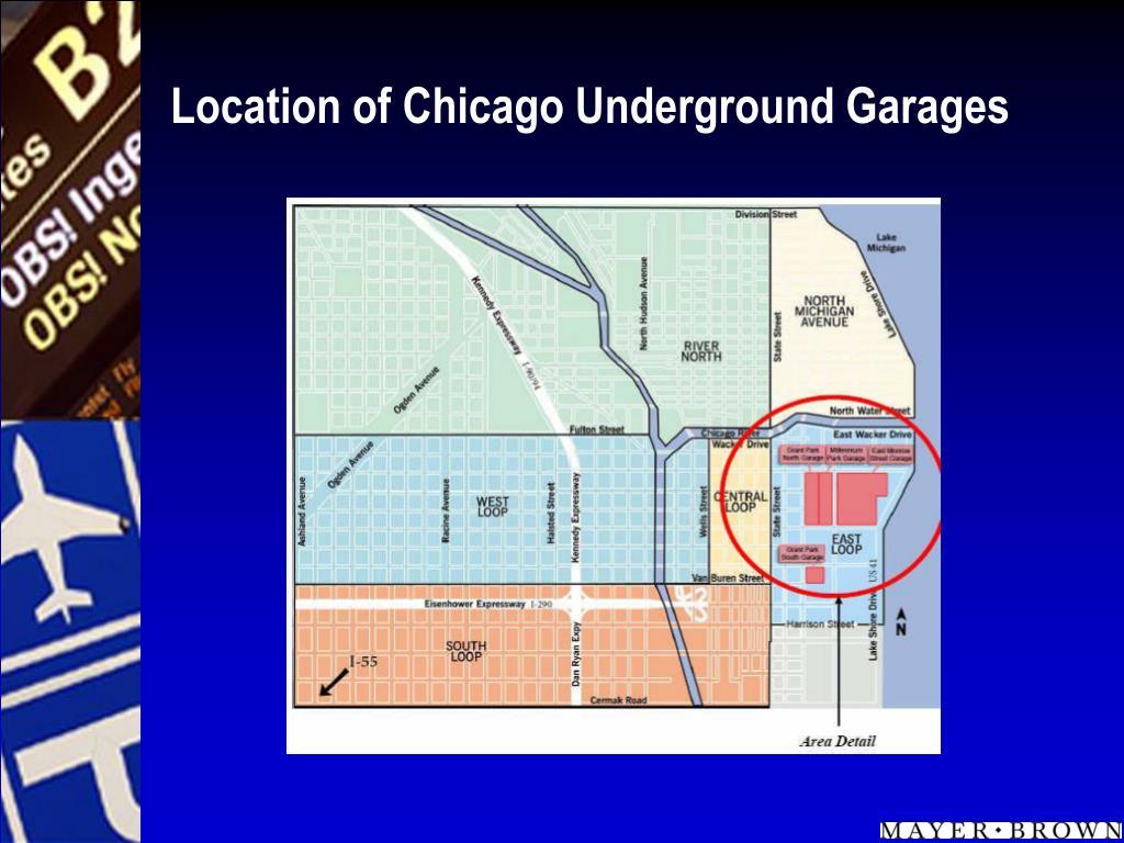 Location of Chicago Underground Garages