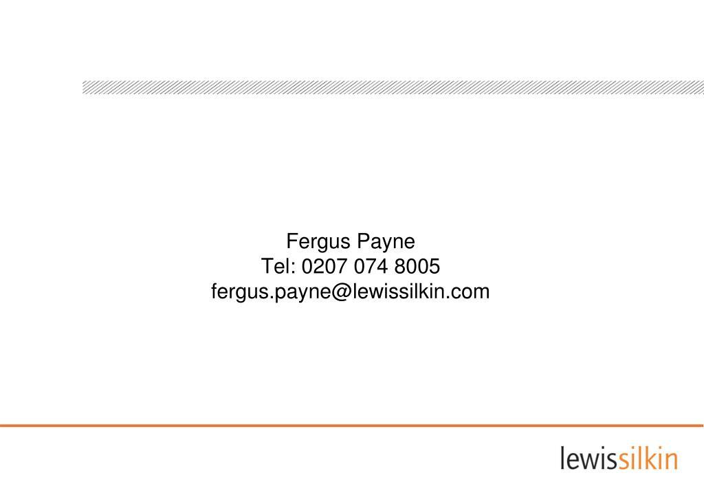 Fergus Payne