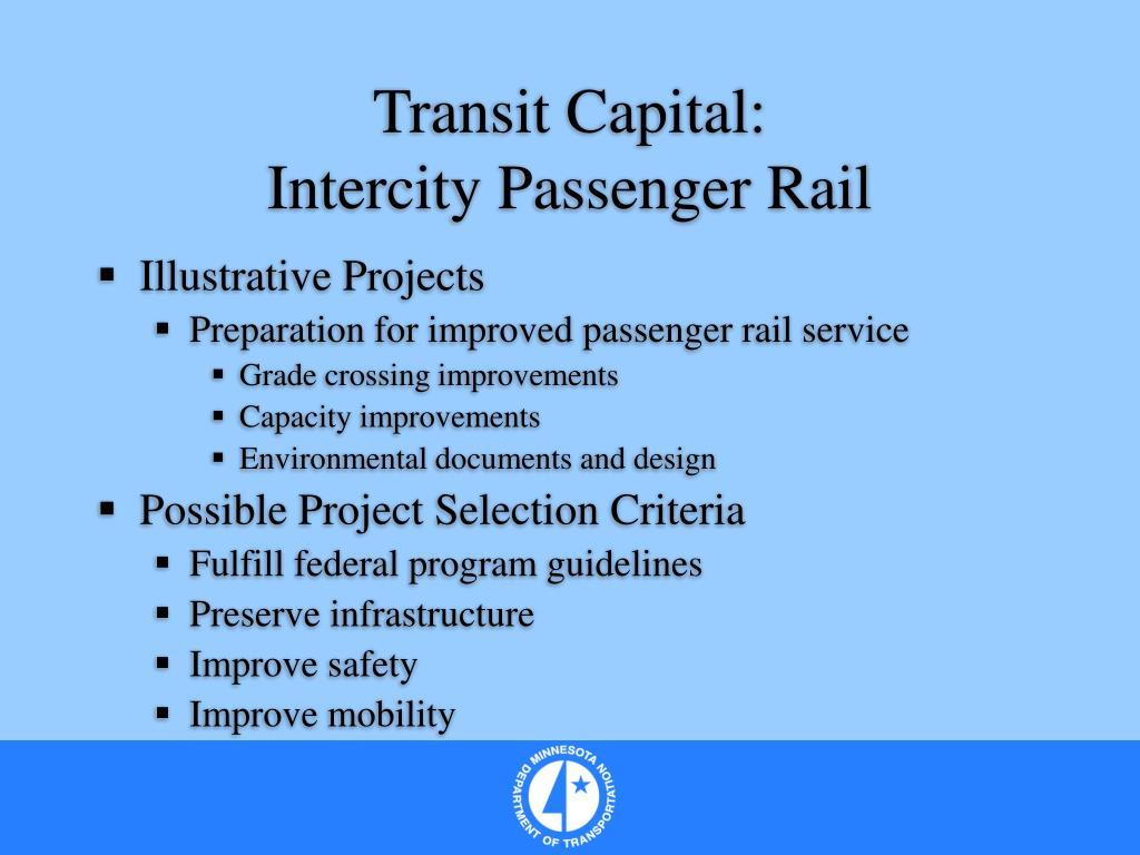 Transit Capital: