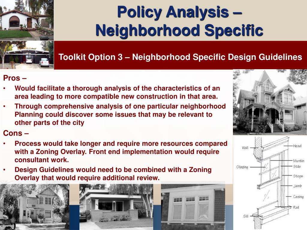 Policy Analysis –