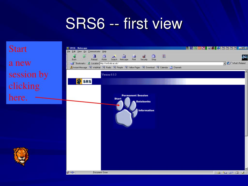 SRS6 -- first view