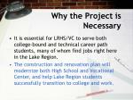 why the project is necessary7