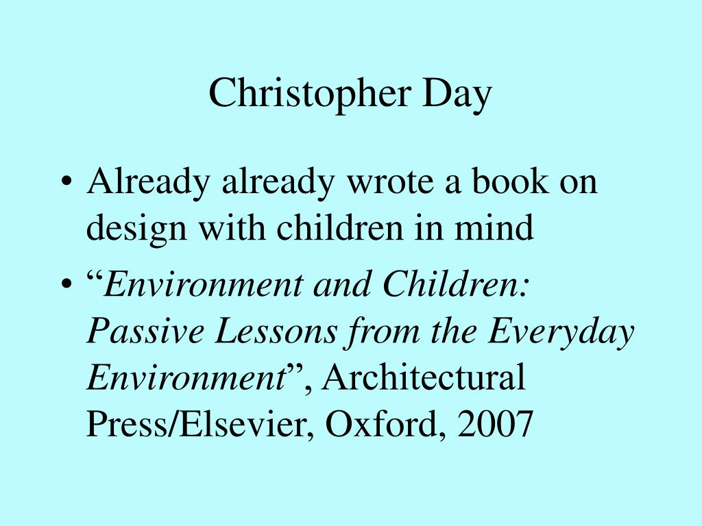 Christopher Day