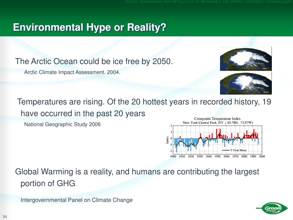 Environmental Hype or Reality?