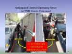 anticipated limited operating space on tnd streets continued25