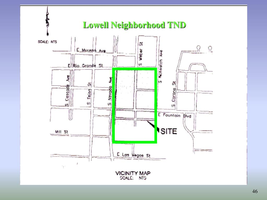 Lowell Neighborhood TND