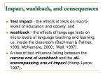 impact washback and consequences4
