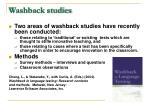 washback studies