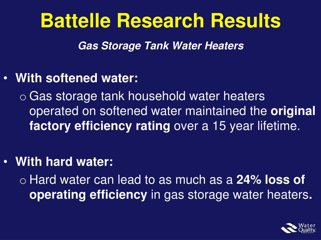 Battelle Research Results
