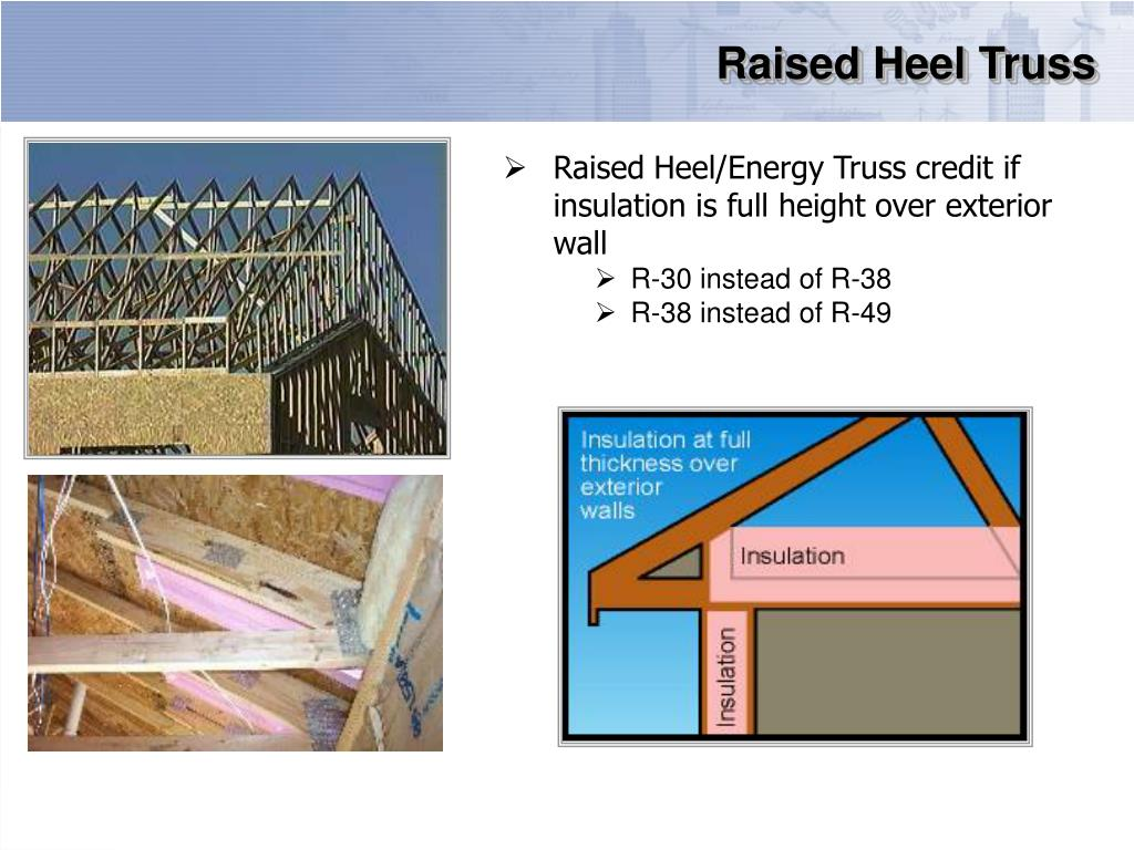 Raised Heel Truss