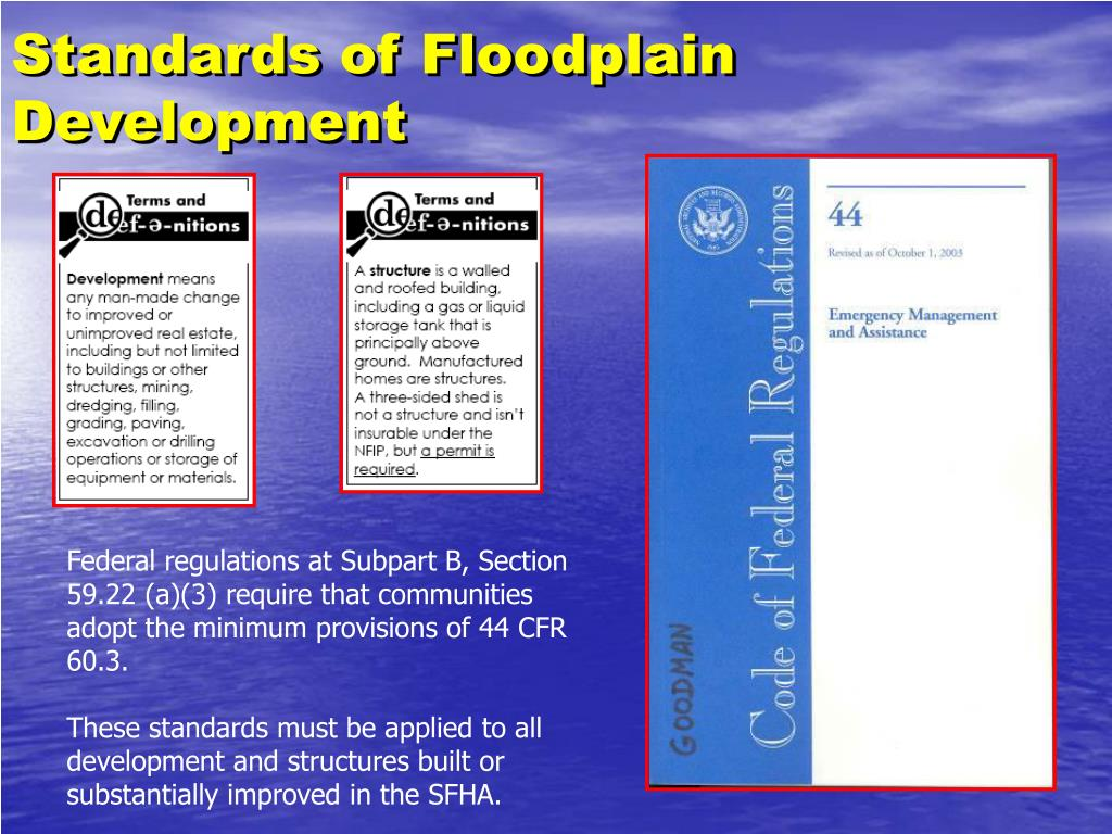 Standards of Floodplain Development