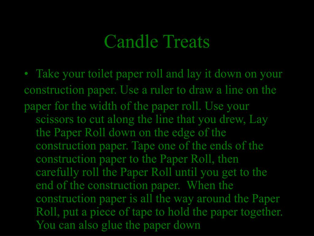 Candle Treats