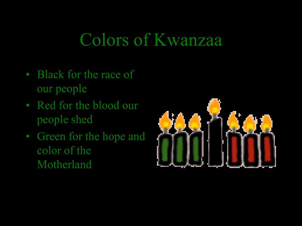Colors of Kwanzaa