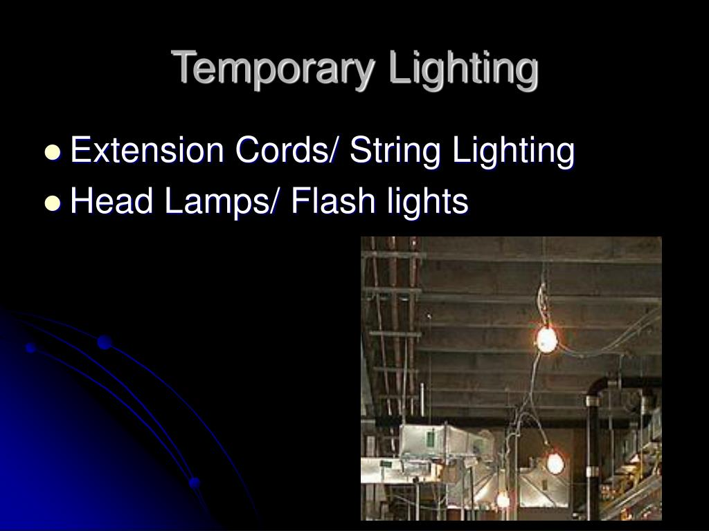 Temporary Lighting
