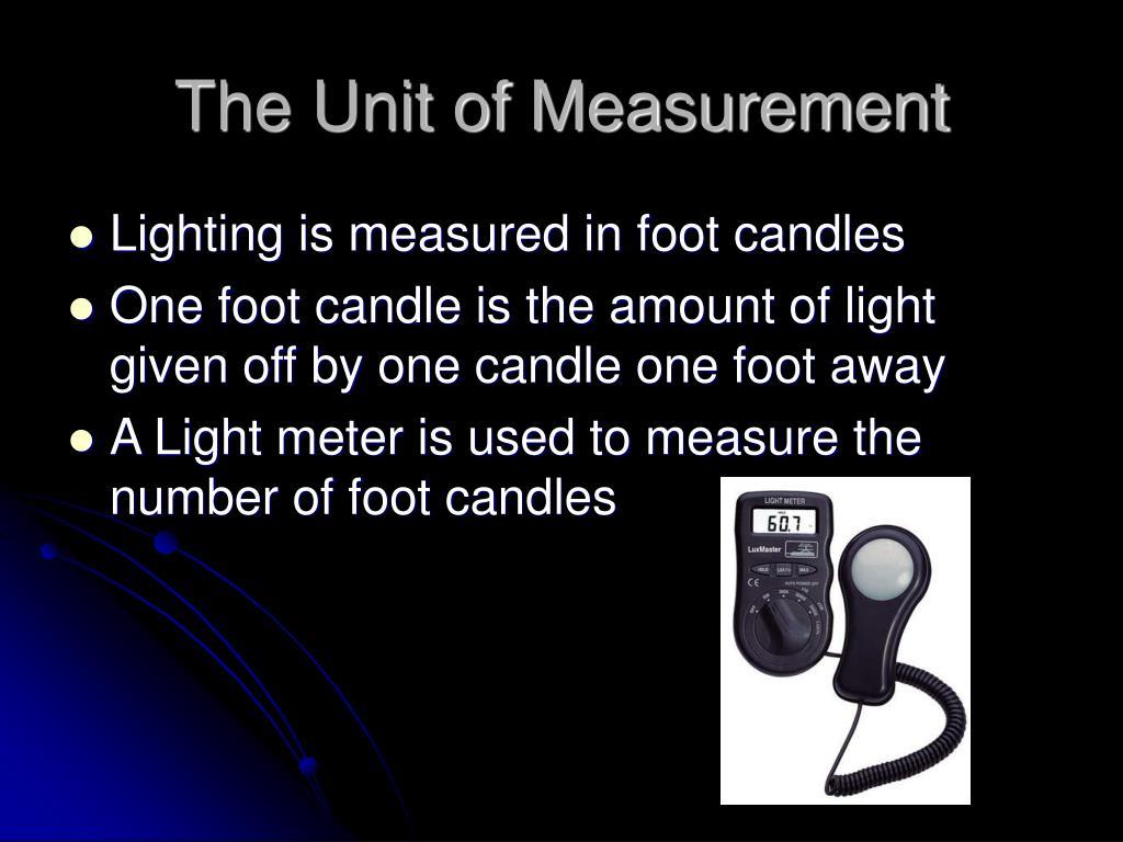 The Unit of Measurement