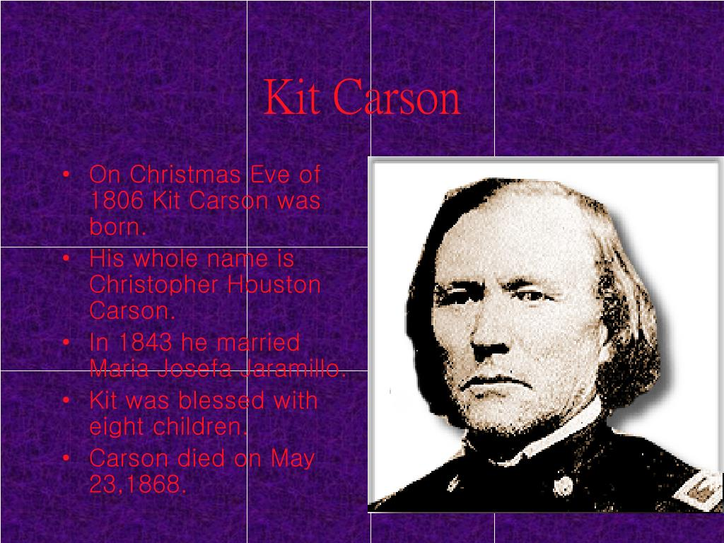 Kit Carson