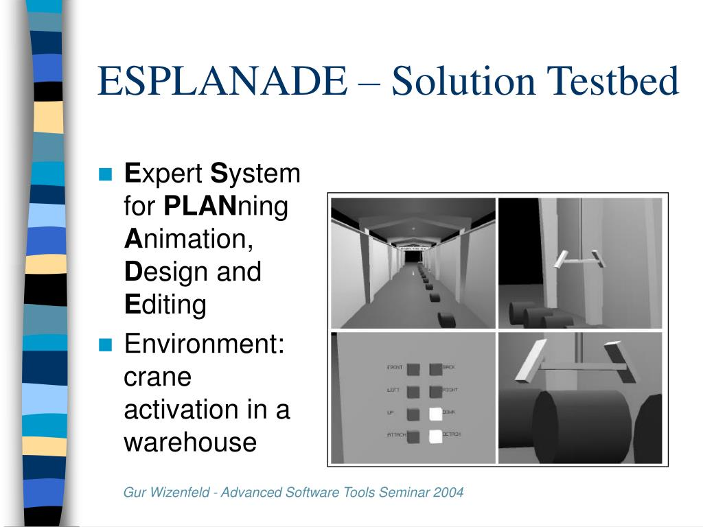 ESPLANADE – Solution Testbed