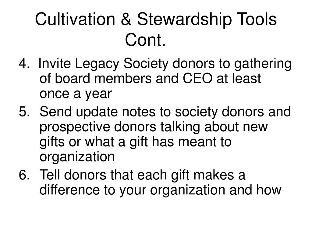 Cultivation & Stewardship Tools Cont.