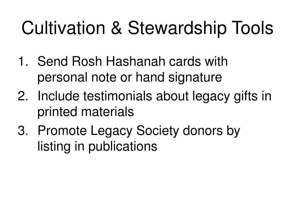 Cultivation & Stewardship Tools