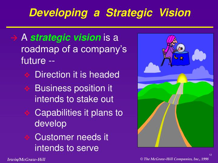 Developing  a  Strategic  Vision